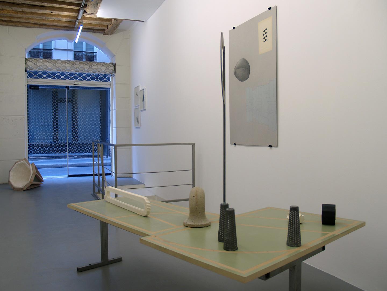Vue de l'exposition Co-lapse